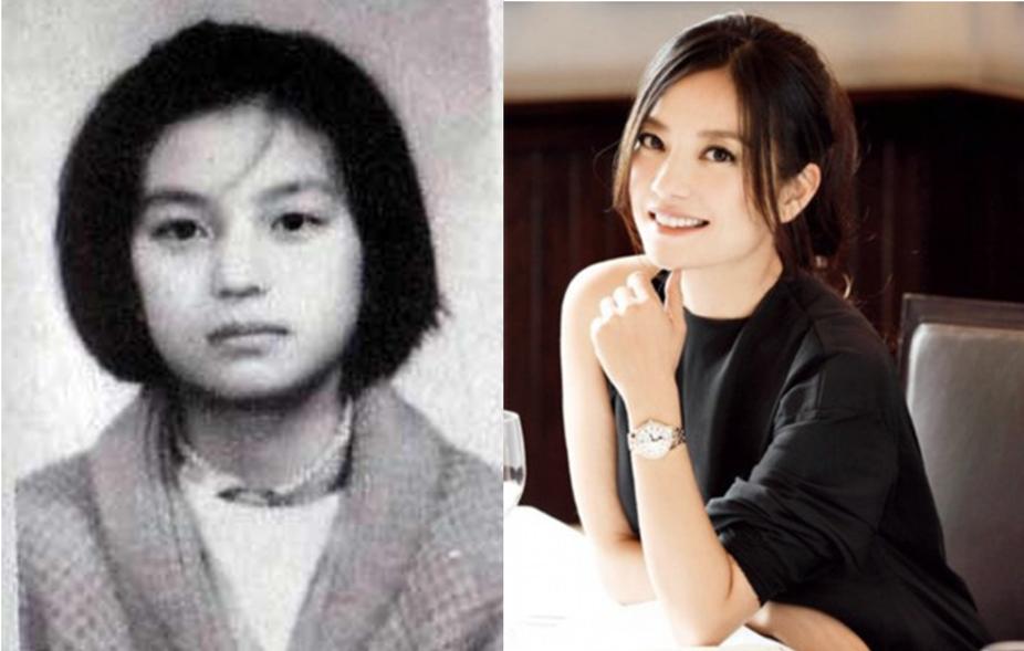 刘亦菲章子怡小时候就那么美,周迅李小璐我傻傻分不清楚!