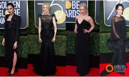 今年金球奖红毯变「黑毯」,到底是怎么回事?